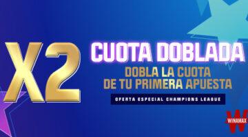 Promoción Champions Apuestas Winamax