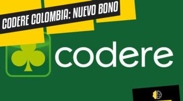 Codere Colombia nuevo bono de bienvenida