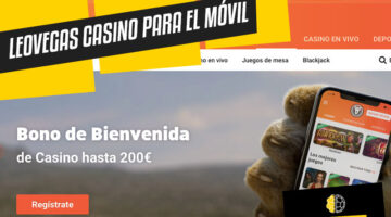 LeoVegas Casino en el móvil