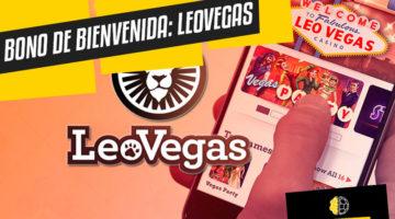 Bono apuestas Latinoamérica: Leovegas.