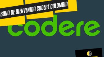 Bono de bienvenida Codere Colombia