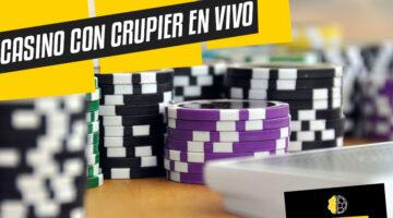 Casinos online con crupier en vivo