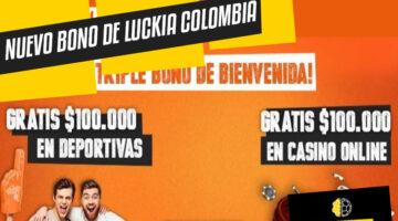 Nuevo Bono de Bienvenida de Luckia Colombia
