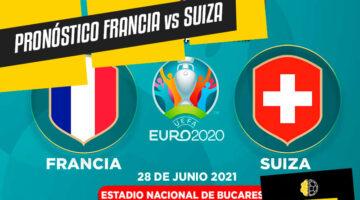 Pronóstico y análisis Francia vs Suiza Eurocopa 2021.
