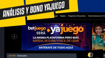 Análisis y bono YaJuego