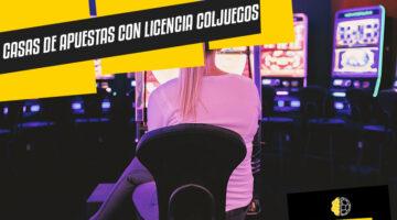 Casas de apuestas con licencia en Coljuegos Colombia