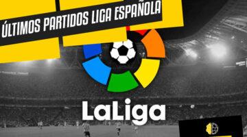 Partidos jornada Liga Española