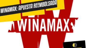 Winamax primera apuesta reembolsada