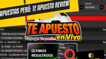 Apuestas Perú cómo funciona Te Apuesto