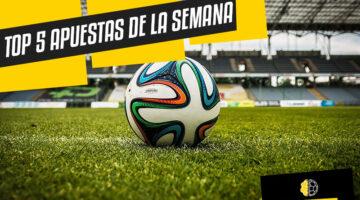 TOP 5 APUESTAS DE LA SEMANA (14-21 DIC)