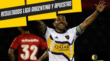 Resultados Liga Argentina. Apostar en Argentina