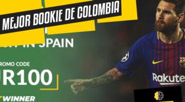 Mejor casa de apuestas de Colombia: Betwinner