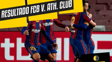 Resultado FC Barcelona vs Athletic de Bilbao