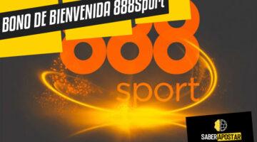 Bono de bienvenida 888Sport España y Latam