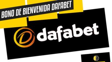 Bono de bienvenida Dafabet