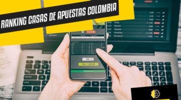 Ranking mejores casas de apuestas de Colombia Octubre 2021